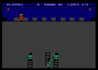 Screenshot Thumbnail / Media File 1 for Orc Attack (1983)(T.E.V.)[k-file]